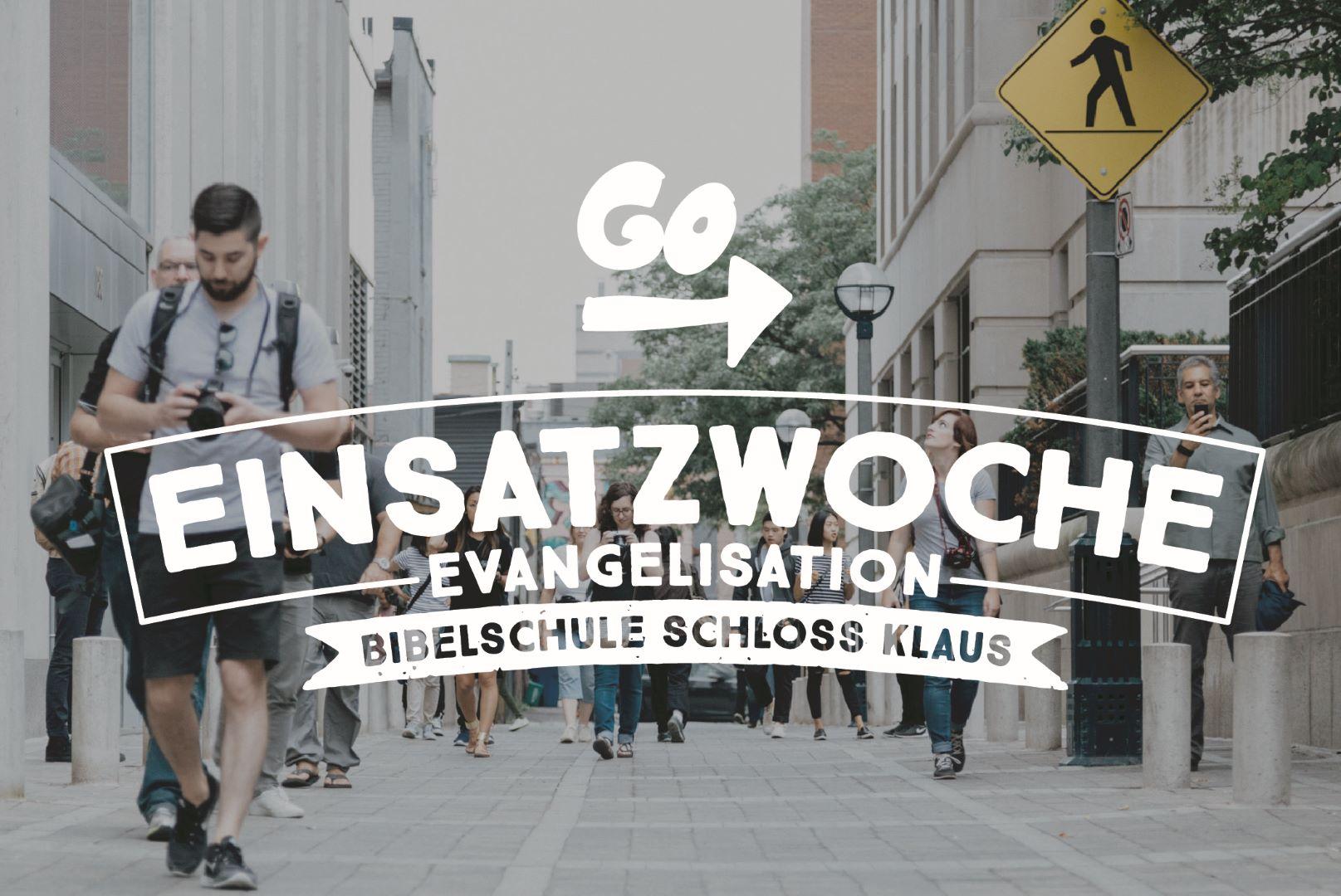 Bibelschule Gasthörerwoche 21: Evangelisation
