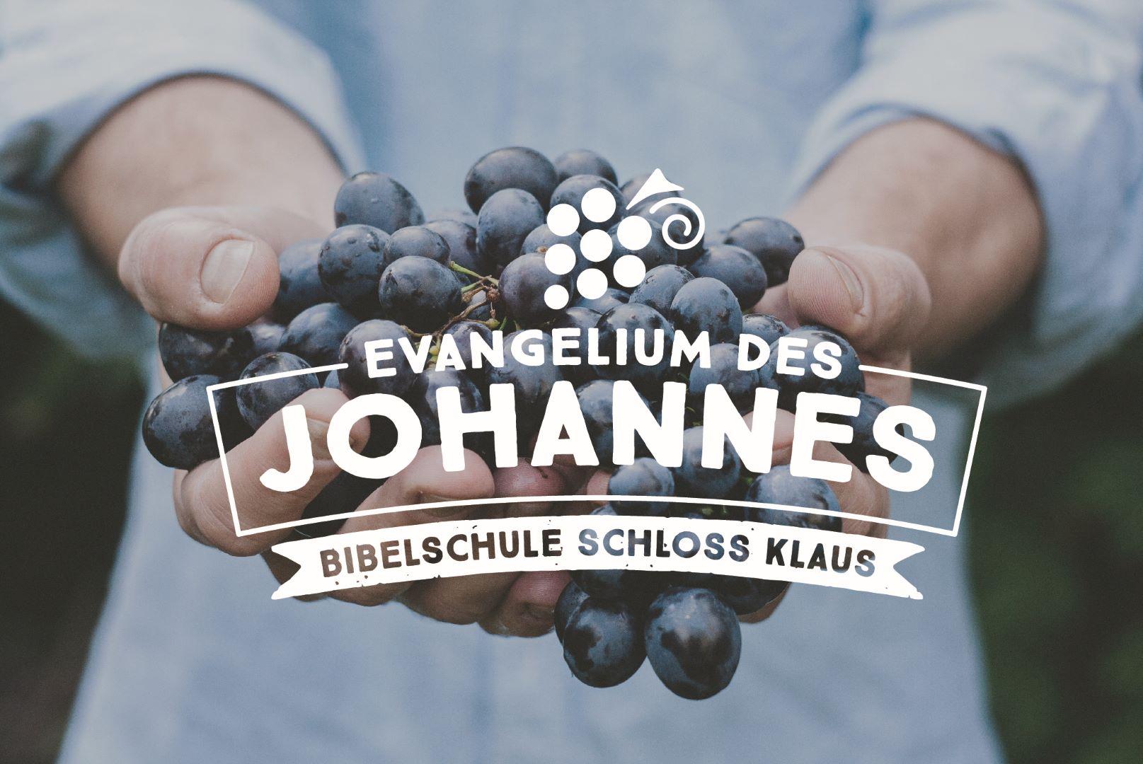 Bibelschule Gasthörerwoche 7: Johannes Teil 1
