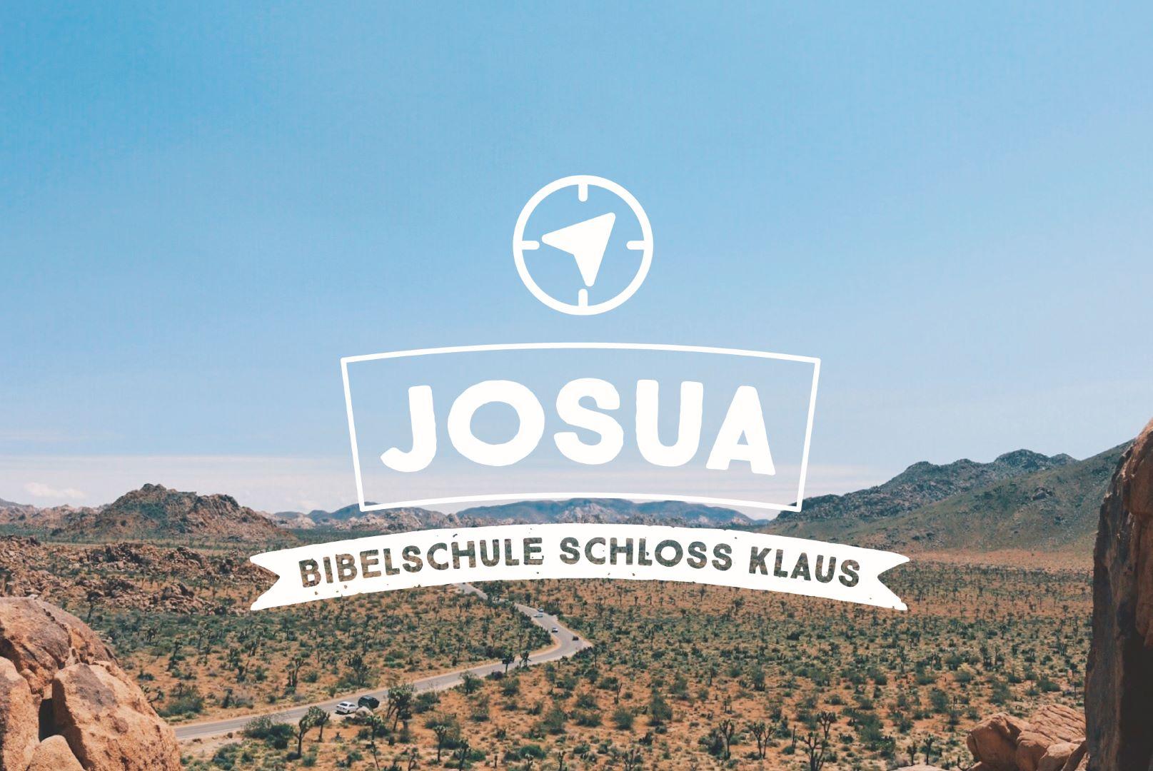 Bibelschule Gasthörerwoche: Josua