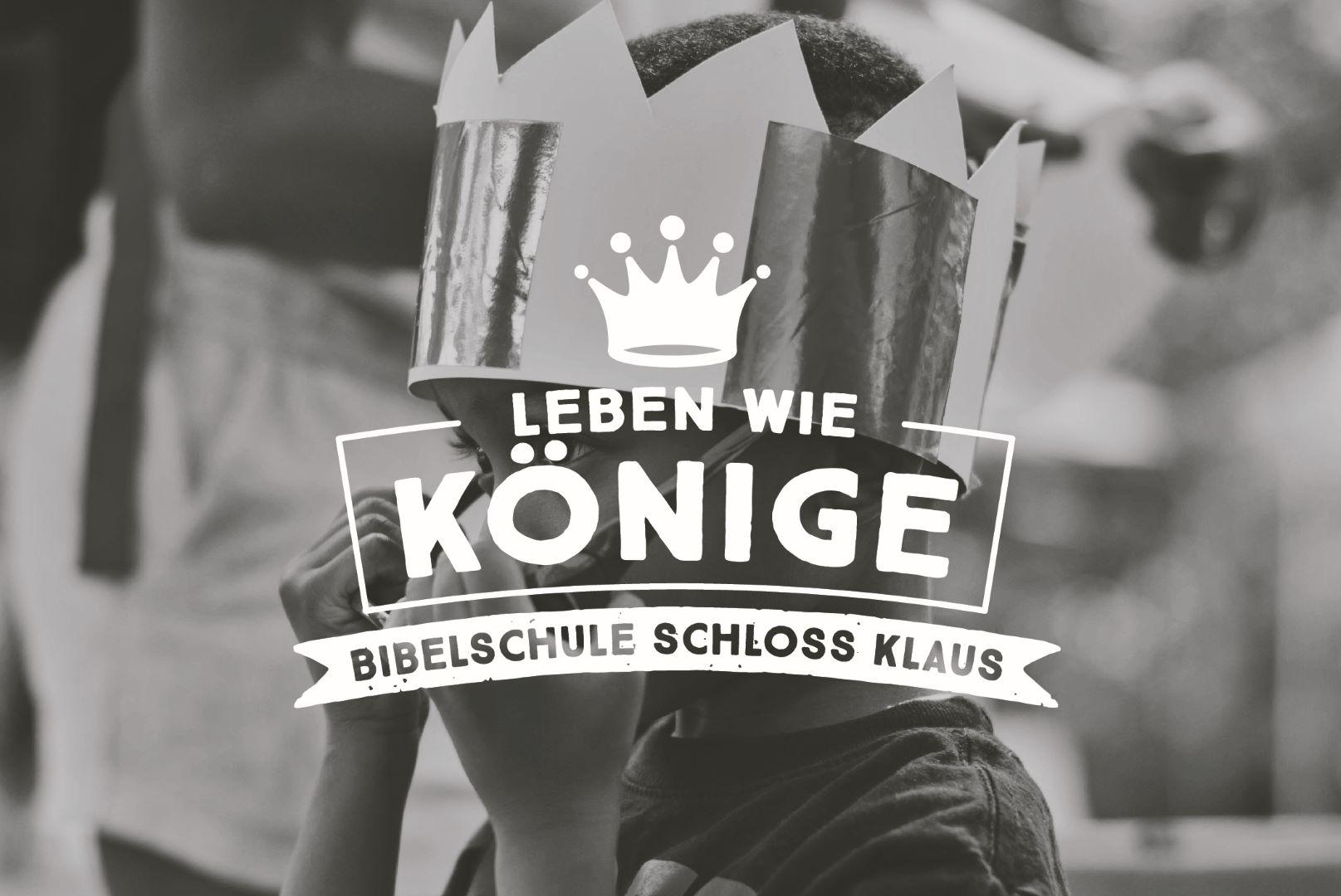 Bibelschule Gasthörerwoche 18: Leben wie die Könige