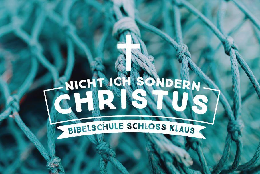 """KBS Gasthörerwoche 15: """"Nicht ich, sondern Christus!"""""""
