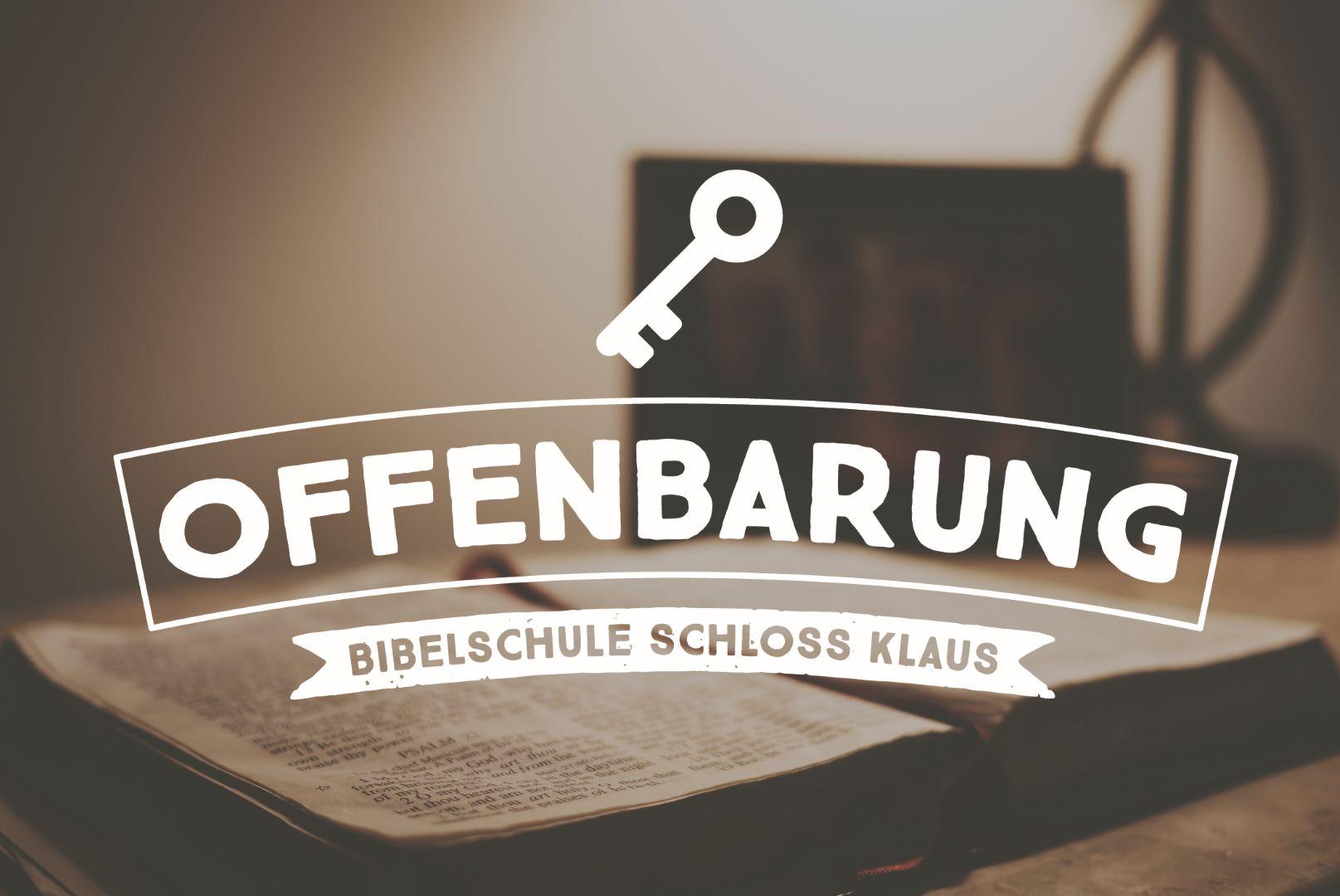 Bibelschule Gasthörerwoche 13: Das Buch Offenbarung_ WARTELISTE