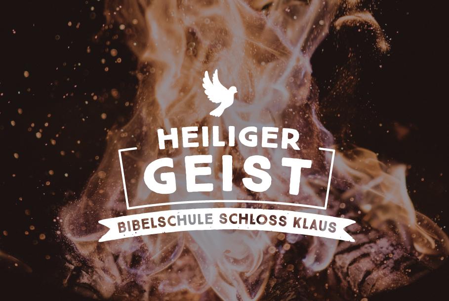 Bibelschule Gasthörerwoche: Heiliger Geist