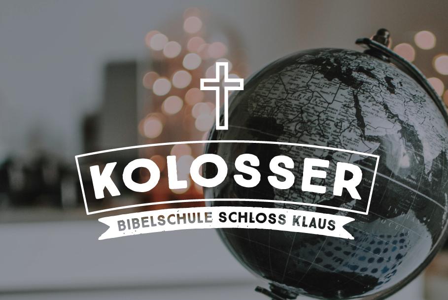 Bibelschule Gasthörerwoche: Kolosserbrief